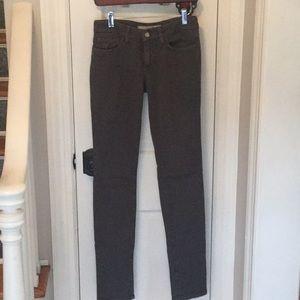 Joe's Gray Size 26 Skinny Jeans